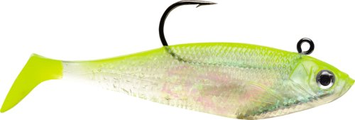For Sale Storm WildEye Swim Shad 02 (Shiner Chart. Silver, Size- 2)