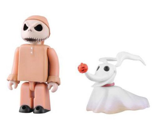 Medicom The Nightmare Before Christmas: Jack in Pajamas and Zero Kubrick 2-Pack 2 - 1