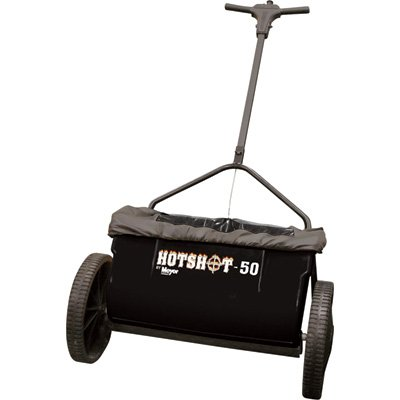 New Hot Shot 50 Drop Salt Spreader