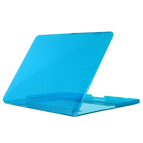 i-Beans【全11色】MacBook Pro Retina ディスプレイ 13.3インチ 用ハードケース クリスタルケース 保護ケース/カバー 透明、クリアケース Plastic Case for MacBook Pro Retina Display 13.3inch (ライトブルー 4508-5)