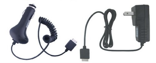 Ishoppingdeals - Car+Ac Home/Wall Charger For Sony Walkman Nwz-S544 Nwz-S545 Mp3 Player