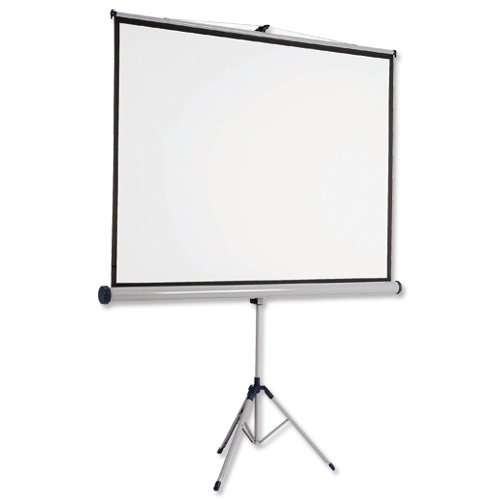 NOBO - Projection screen with tripod - 4:3 - Matte White