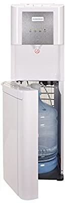 Hamilton Beach BL-8-4A Bottom Loading Water Cooler Dispenser, Hot, Cold and Room Temperatures, White