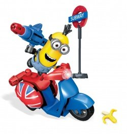 mattel cnf52 megabloks minions movie scooter esc