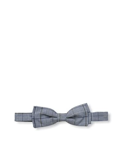 Nina Ricci Men's Plaid Bowtie, Blue