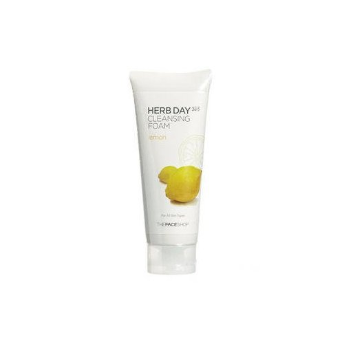 the-face-shop-herb-day-cleansing-cleansing-foam-lemon170ml-made-in-korea