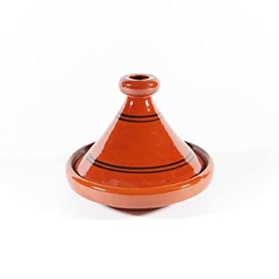 Moroccan Bazzar 22cm Terracotta Tagine (1 person)