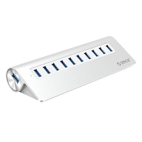 orico-mini-hub-usb-30-a-10-porte-in-alluminio-alta-velocita-con-adattatore-dalimentazione-12v-3a-per
