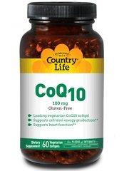 Country Life Coq10 100Mg Vegetarian, 60-Softgel