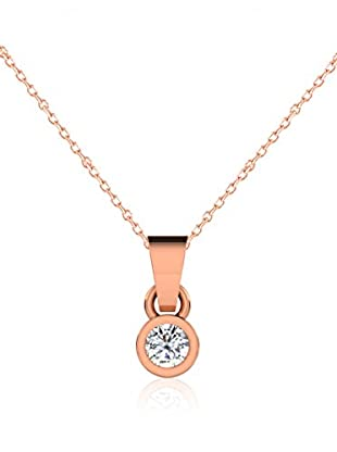 Friendly Diamonds Conjunto de cadena y colgante FDP6242R Oro Rosa