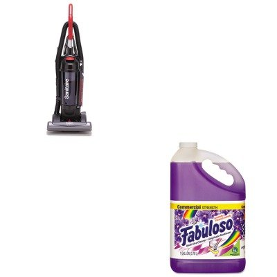 Kitcpm04307Eaeuksc5845B - Value Kit - Sanitaire Bagless/Cyclonic Commercial Upright Vacuum (Euksc5845B) And Fabuloso All-Purpose Cleaner (Cpm04307Ea) front-105581