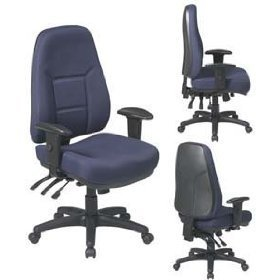 Amazon.com: Worksmart High-Back Office Chair with 2-Way Adjustable