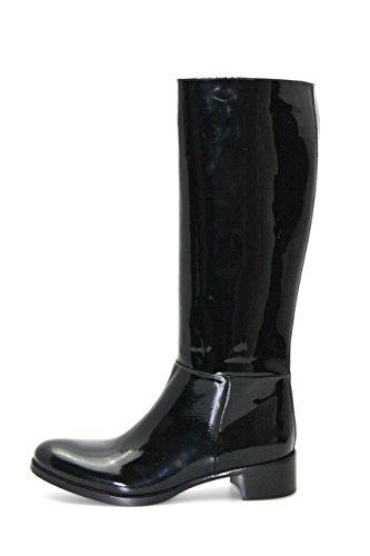 Prada Womens 1W9335 Leather Boots