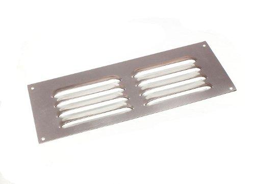 10 Of Aluminium Louvre Air Vent Ventilator Cover Grille 9 X 3 225Mm X 75Mm