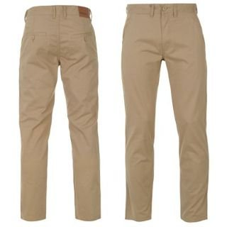 Pierre Cardin Chino Trousers Mens Stone 32W R