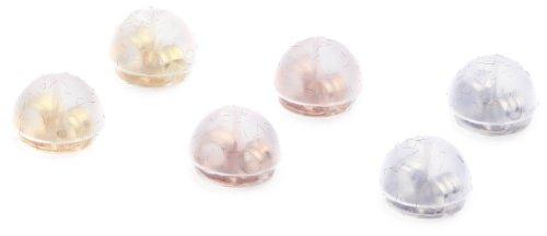 [ラヴトリプル] LOVE x LOVE x LOVE pierced earrings for K18 W lock SI caught panty 3 colors set