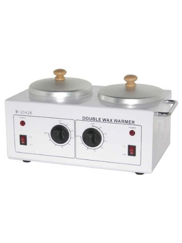 New Professional Spa Double Wax Warmer