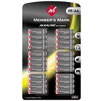 Member's Mark AA Alkaline Batteries - 48 pk.