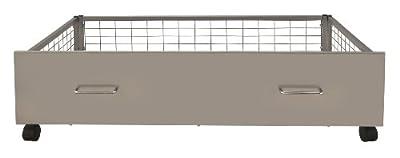 Urban Silver Metal Under Bed Storage Drawers (2 drawers)