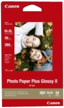Canon Original 2311B003 PP-201 Bubble Jet Media Photo Paper 4x6 (50 Sheets)
