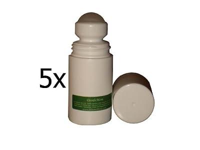 DeodoMom Roll-on (5 pack) - A Hypoallergenic Lotion Deodorant: ZERO% Aluminum, Alcohol, Scent, Dye, Parabens; 100% Vegan.
