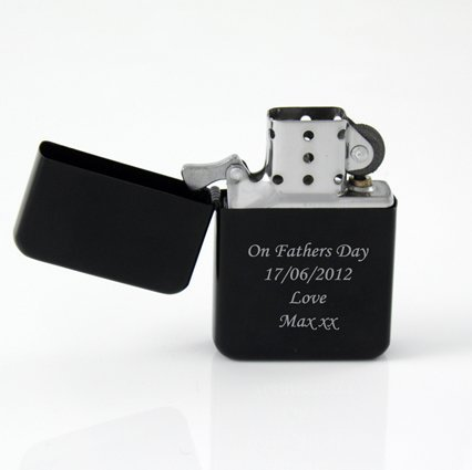 Personalised Engraved Gift - Lighter engraved with your Message