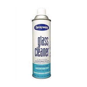 SprayWay 050-12PK Glass Cleaner - 19 oz., (Case of 12) from SprayWay
