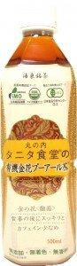 海東銘茶 タニタ食堂の有機金花プーアール茶 500ml 1ケース(24本)