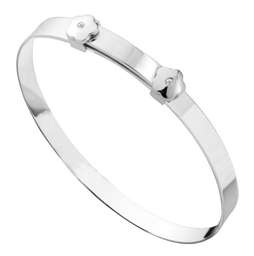 Sterling Silver Child's Expander Bangle