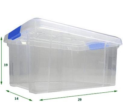 D nde comprar cajas de pl stico 40 productos - Caja almacenaje plastico ...