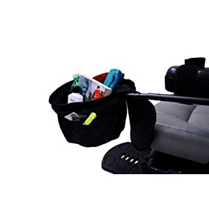 electric wheelchair and scooter bags and baskets
