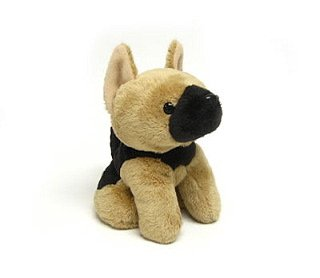 Stuffed Mini Shepherd 6""