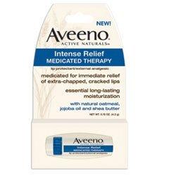 Amazon.com: Aveeno Intense Relief Medicated Lip Stick Therapy Lip