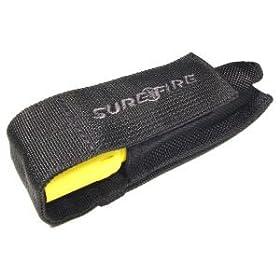 V21 Surefire Flashlight Holster, Nylon Fabric, Black for Surefire 6P, A2, D2,...