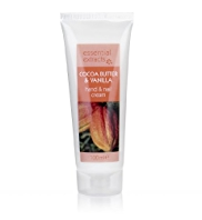 Essential Extracts Cocoa Butter & Vanilla Hand & Nail Cream 100ml