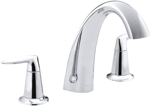 KOHLER K-T45115-4-CP Alteo Bath Faucet Trim, Valve Not Included, Polished Chrome