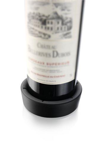 Want Vacu Vin 1855450 Bottle Coaster, Black discount