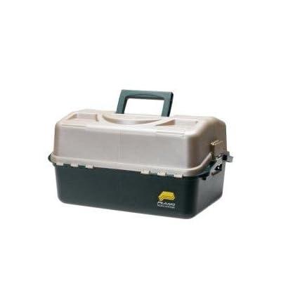 Amazon.com : Plano 8600 Hip Roof Tackle Box with FREE Dorcy Flashlight