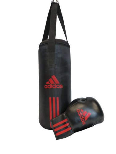 adidas Kinder Box-Set Junior Pack, Schwarz/Rot, 43 x 19 cm, ADIBACJP
