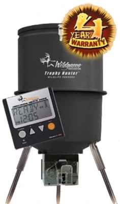 Wildgame Innovations Gallon Digital Poly Barrel Feeder front-53921