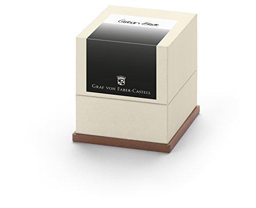 Graf de faber 141130 20 cartouches d'encre noir carbone