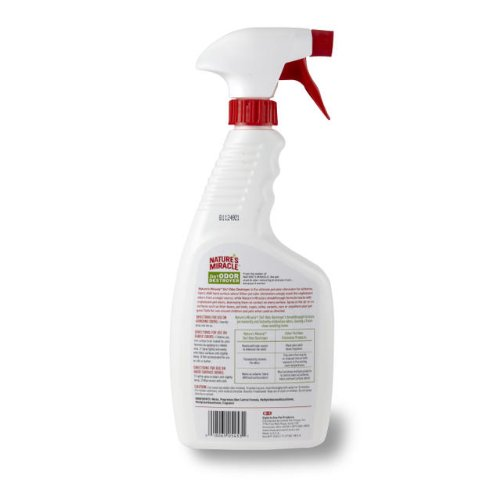 Nature's Miracle 3-in-1 Odor Destroyer, Mountain Fresh Scent, 24-Ounce Spray (P-5453)