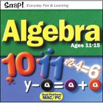 TOPICS ENTERTAINMENT SNAP! Algebra (Windows/Macintosh)
