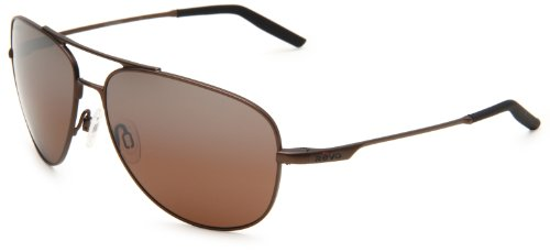 Revo Windspeed RE3087-06 Polarized Aviator Sunglasses,Bronze