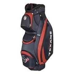 Wilson NFL Cart Bag - Houston Texans by Wilson