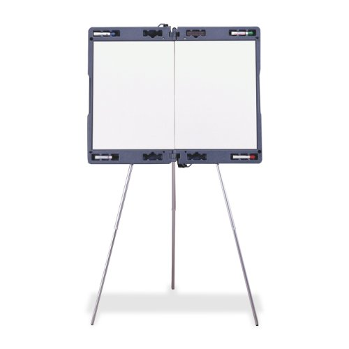 Ghent 19982 Attivo Presentation Easel - with Built-In Markerboard and Carrying Case