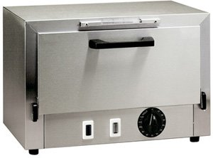 Stainless Steel Sterilizer: Hospital Model: Three large instrument trays plus needle tray and remov