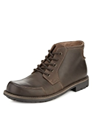 Blue Harbour Leather Mudguard Chukka Boots