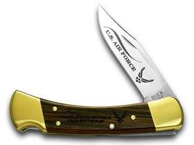 Buck 110 Folding Hunter Air Force 1/100 Pocket Knife Knives