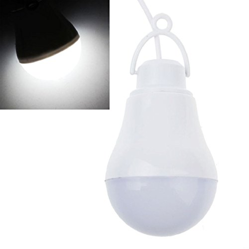 Bocideal New Design USB 5W DC 5V 10LED Portable Hook Outdoor Camping Light Lamp Bulb Cool White White